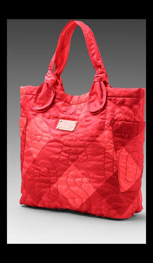 Pretty Nylon Stacey Check Medium Tote