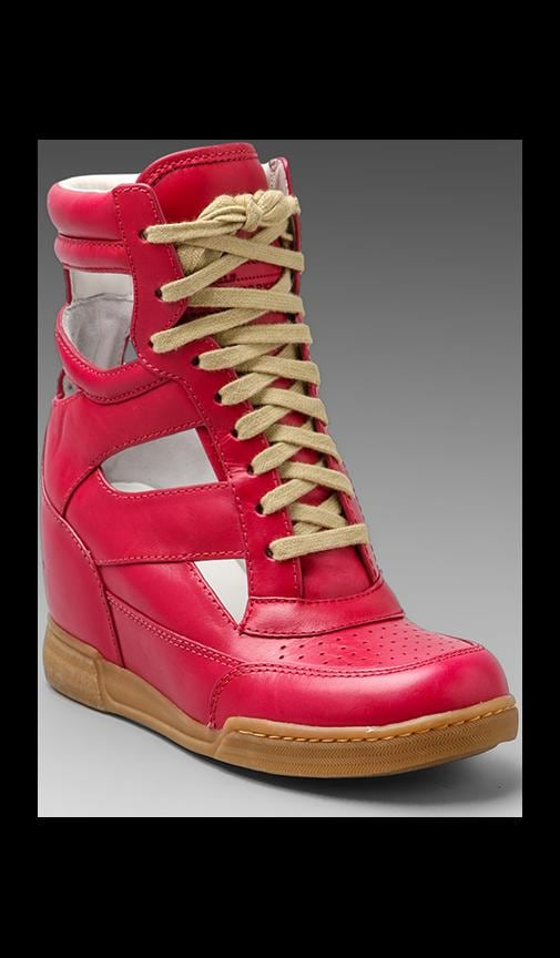 Cut Out Wedge Sneaker