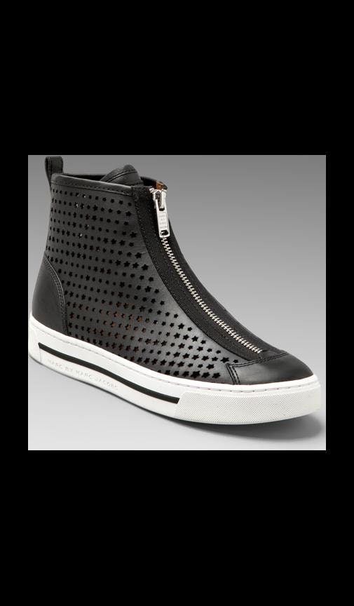 Star Struck Heavy Calf Perforated Sneaker