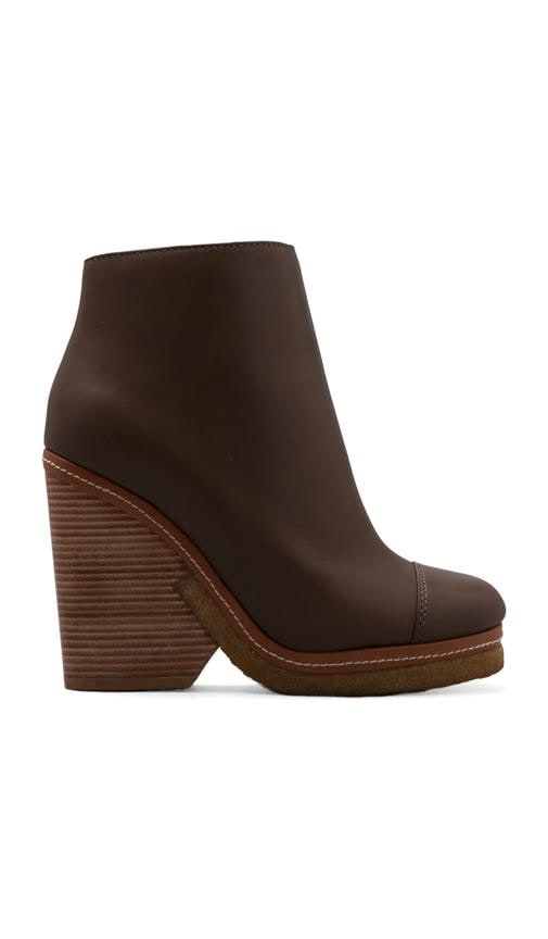 Urban Click Heavy Calf Heel Ankle Boot