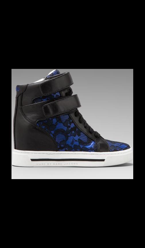 Lace + Heavy Calf Sneaker
