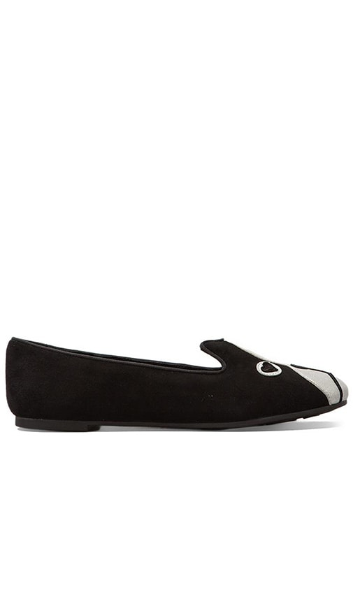 Shorty Suede Metallic Loafer