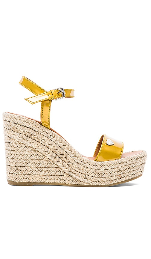 Stars & Hearts Espadrille Wedge