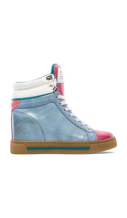 Cute Kicks Sneaker Wedge