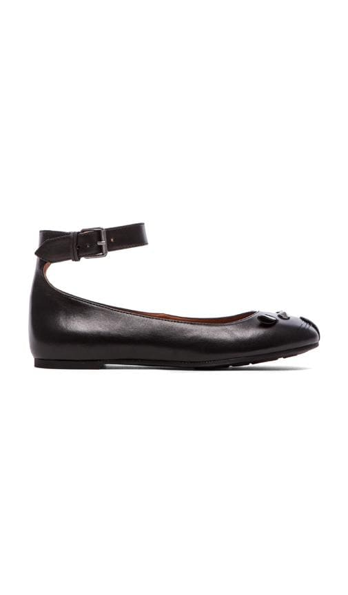 Mouse Ankle Strap Flats