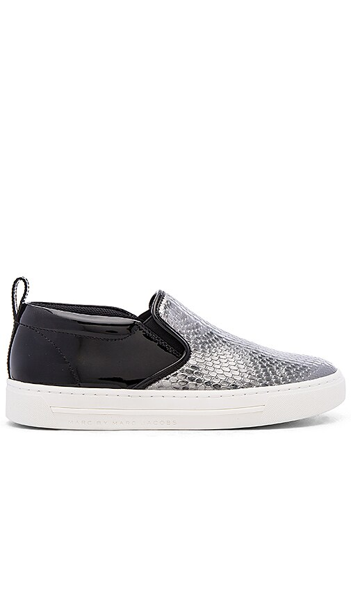 Marc by Marc Jacobs Broome Sneaker in Dark Silver