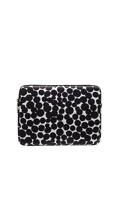 """Neoprene Graphic Painted Dots 13"""" Computer Case"""