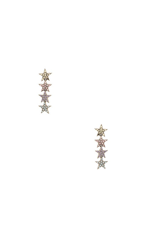 Marc Jacobs Twinkle Star Earring in Metallic Gold
