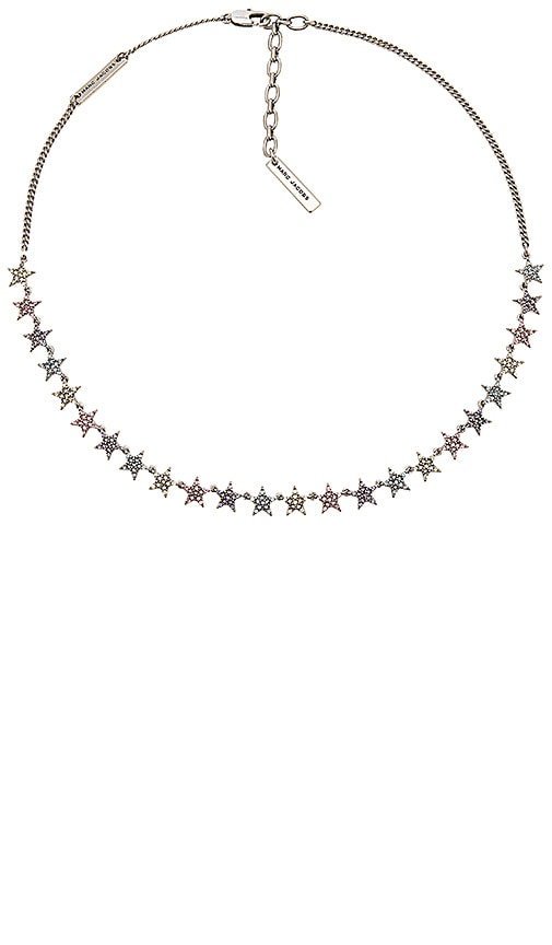 Marc Jacobs Twinkle Star Necklace in Metallic Silver