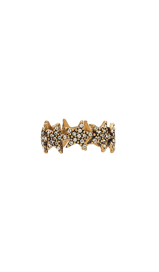 Marc Jacobs Twinkle Star Ring in Metallic Gold