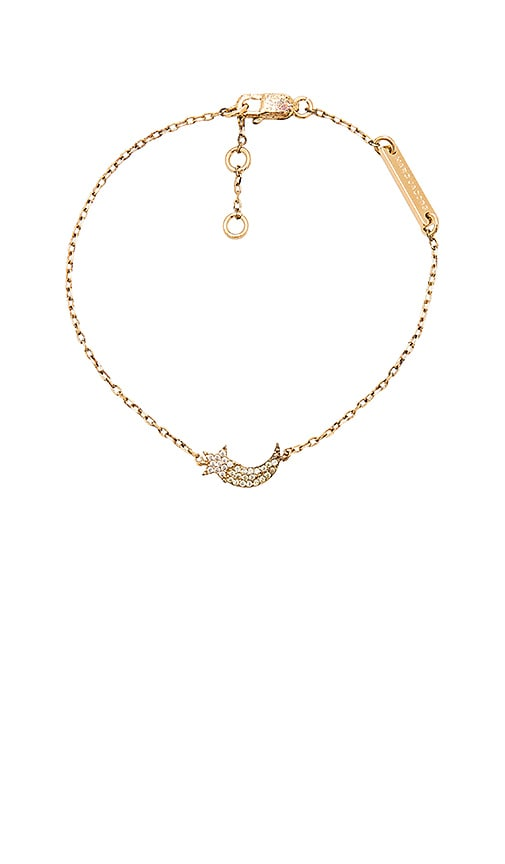 Marc Jacobs Shooting Star Chain Bracelet in Metallic Gold