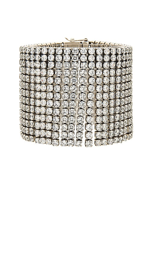 Marc Jacobs River Bracelet in Metallic Silver