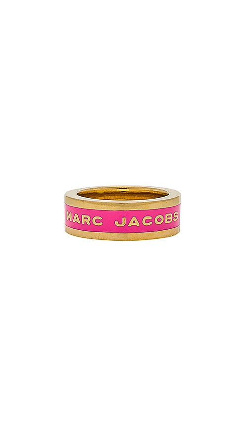 Marc Jacobs Band Ring in Metallic Gold