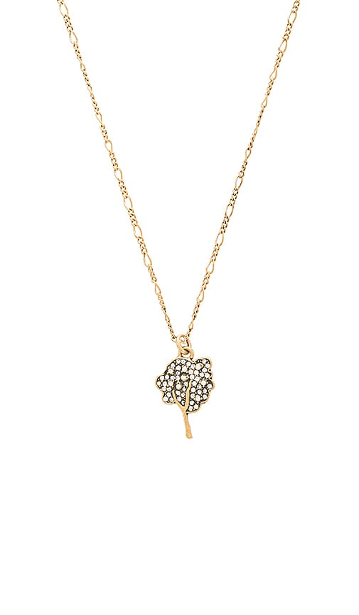 Marc Jacobs Charms Tree Pendant Necklace in Metallic Gold