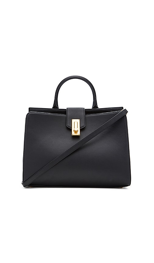 Marc Jacobs West End Large Top Handle Tote Bag in Black