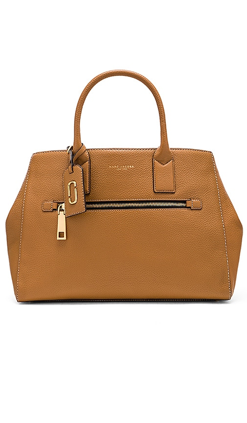 Marc Jacobs Gotham City Tote Bag in Tan