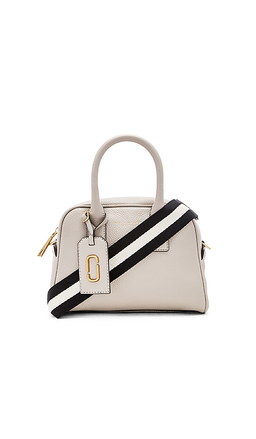 Marc Jacobs Gotham City Small Bauletto Bag in Pebble