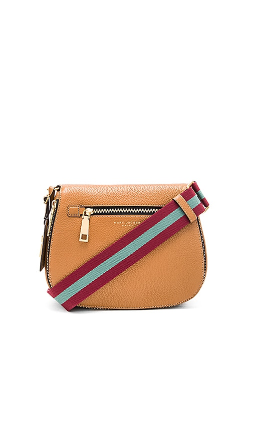 Marc Jacobs Gotham City Saddle Bag in Maple Tan