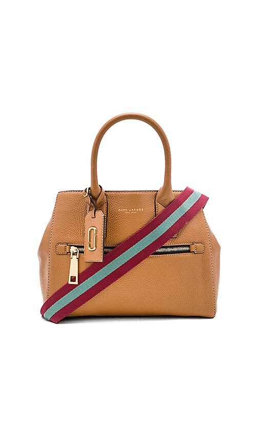 Marc Jacobs Gotham City Tote Bag in Maple Tan