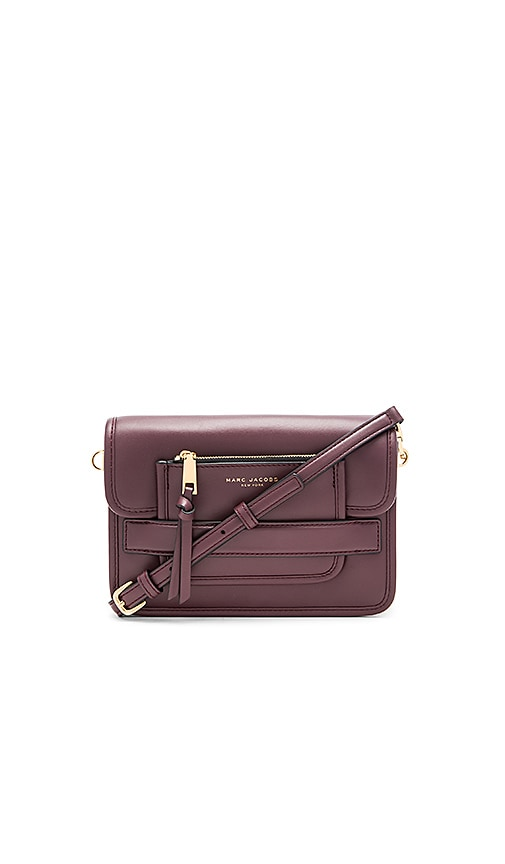 Marc Jacobs Madison Medium Shoulder Bag in Burgundy