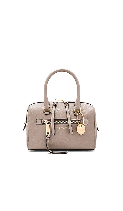 Marc Jacobs Recruit Small Bauletto Bag in Taupe