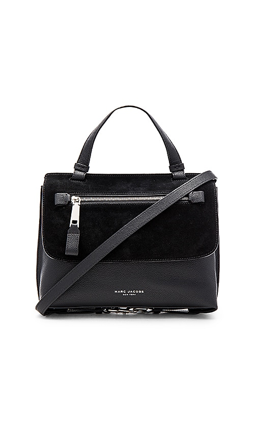 Marc Jacobs The Waverly Small Top Handle Bag in Black