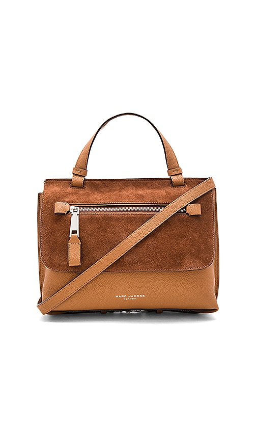 Marc Jacobs The Waverly Small Top Handle Bag in Tan