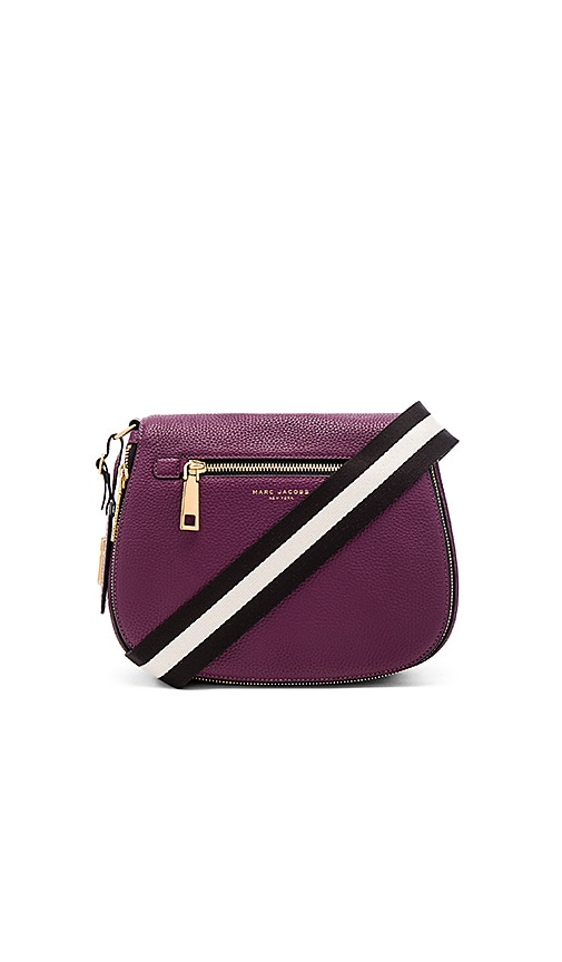 Marc Jacobs Gotham Saddle Bag in Purple