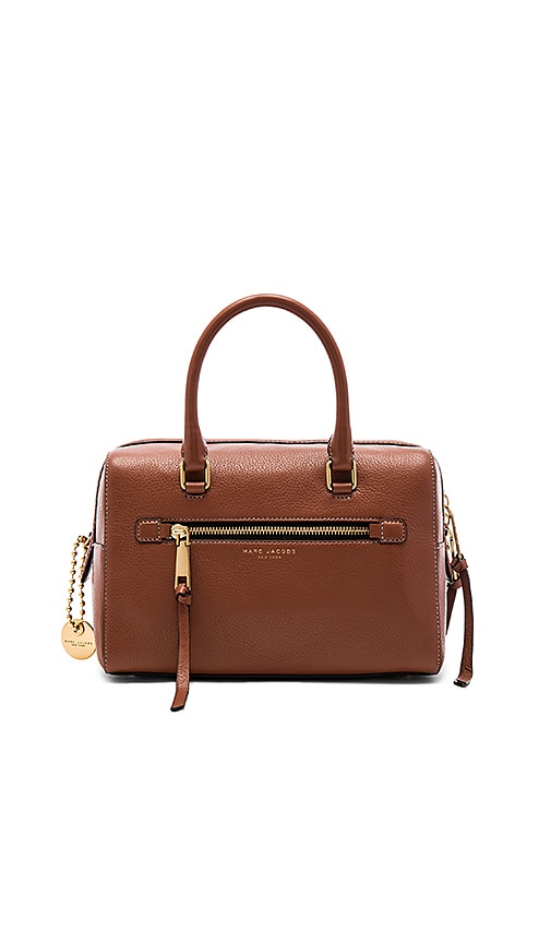 Marc Jacobs Recruit Bauletto Bag in Brown