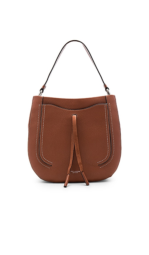 Marc Jacobs Maverick Hobo in Cognac
