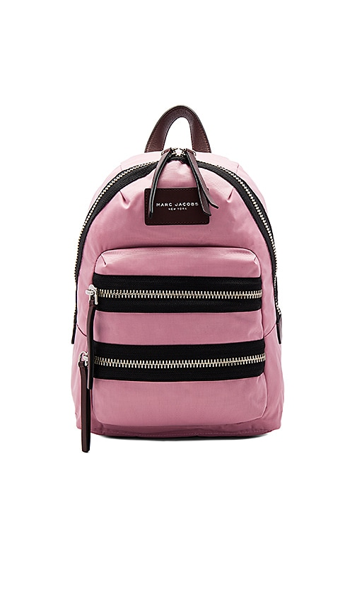 Marc Jacobs Nylon Biker Mini Backpack in Pink