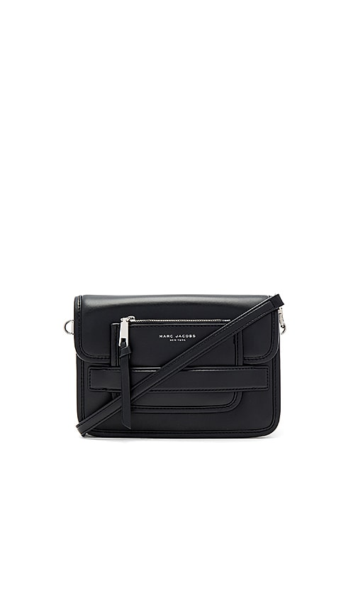 Marc Jacobs Madison Medium Shoulder Bag in Black