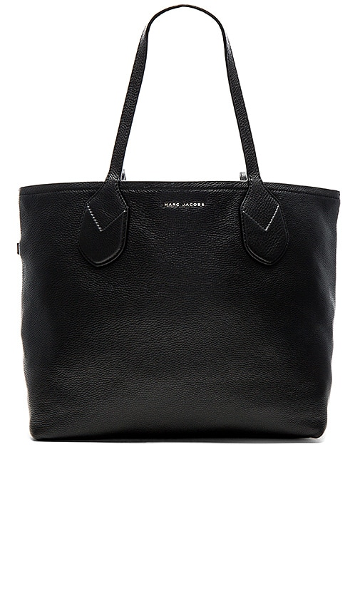 Marc Jacobs Dual Reversible Shopping Tote in Black