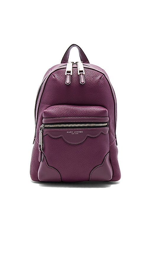 Marc Jacobs Haze Leather Backpack in Purple