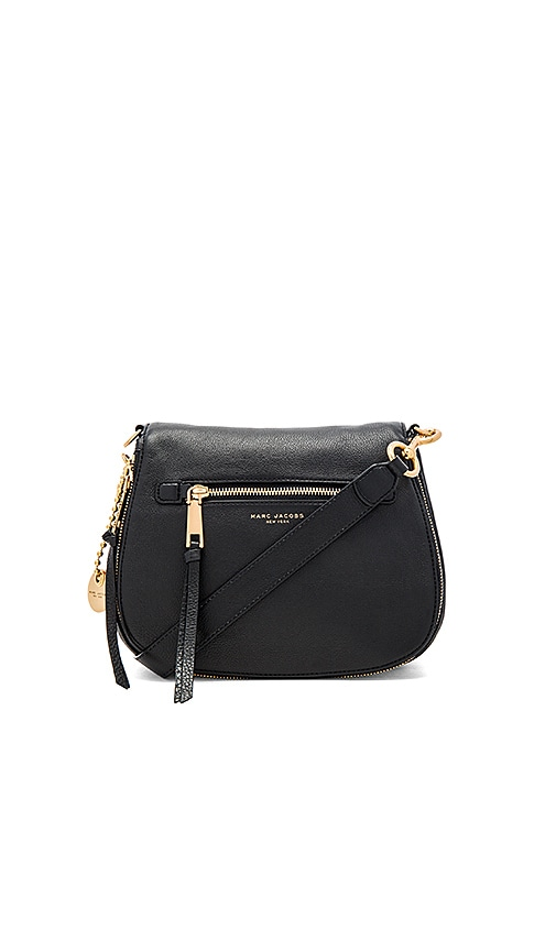 Marc Jacobs Recruit Nomad Shoulder Bag in Black