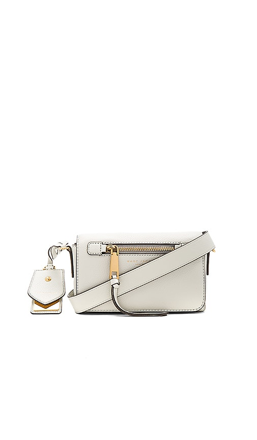 Marc Jacobs Recruit Crossbody Bag in Ivory
