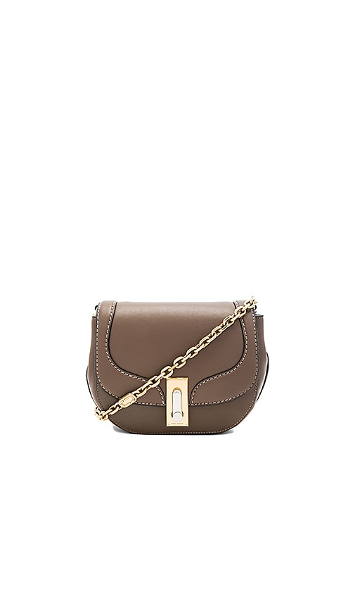 Marc Jacobs West End Stitch The Jane Shoulder Bag in Brown