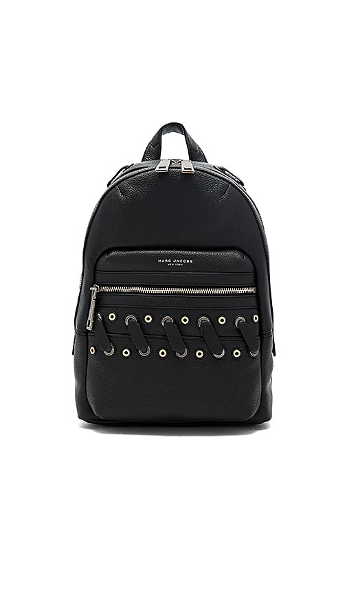 Marc Jacobs Biker Grommet Backpack in Black