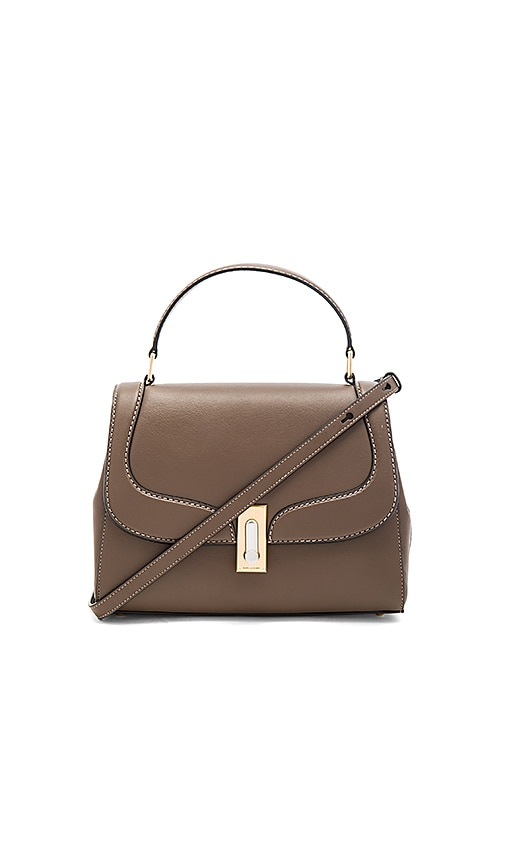 Marc Jacobs West End Stitch Top Handle II Bag in Brown