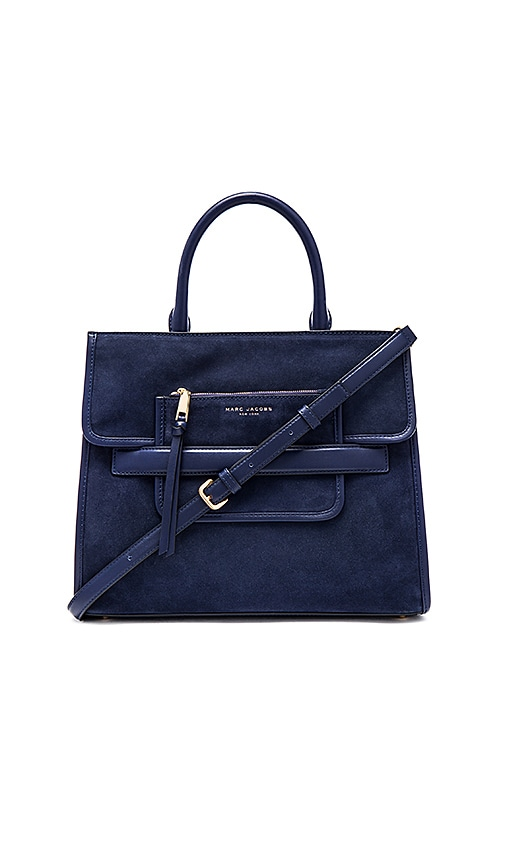 Madison Suede Tote