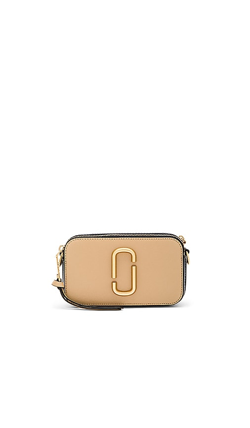 Marc Jacobs Snapshot Bag in Tan