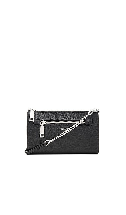 Marc Jacobs Gotham Small Crossbody Bag in Black