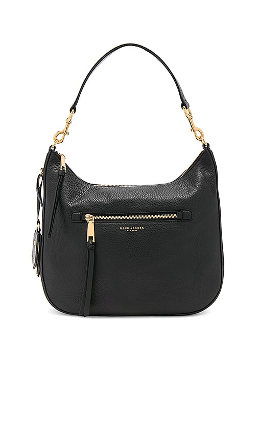 Marc Jacobs Recruit Hobo in Black