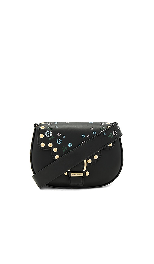 Marc Jacobs 70s Studded Navigator Bag in Black