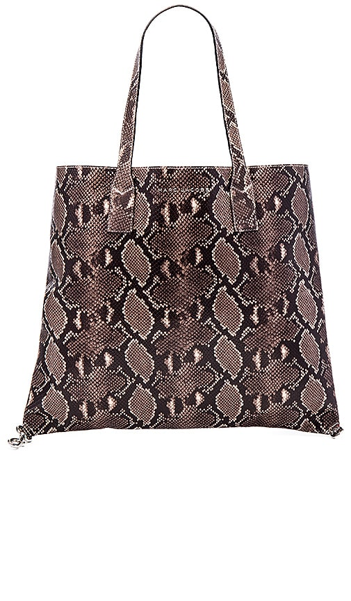 Marc Jacobs Wingman Shopping Tote in Light Snake Multi
