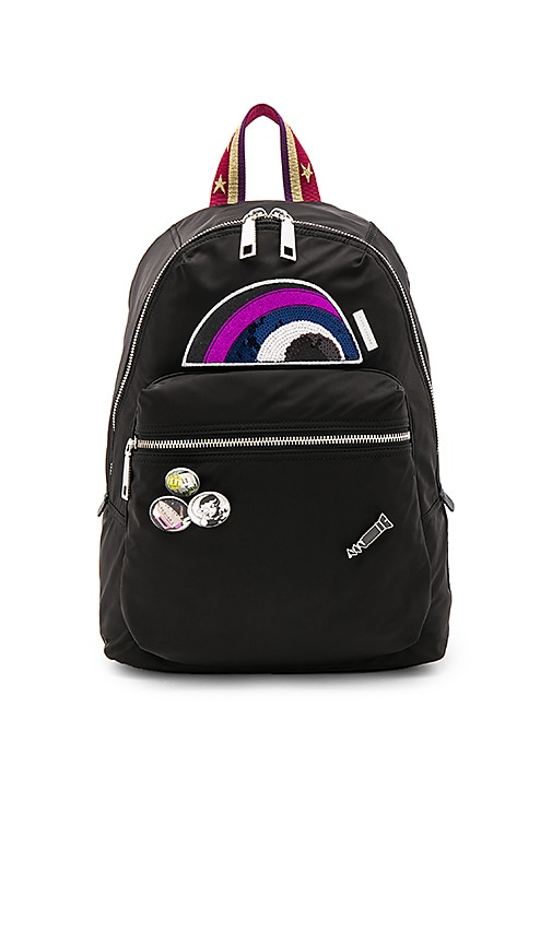 Marc Jacobs Julie Verhoeven Nylon Biker Backpack in Black