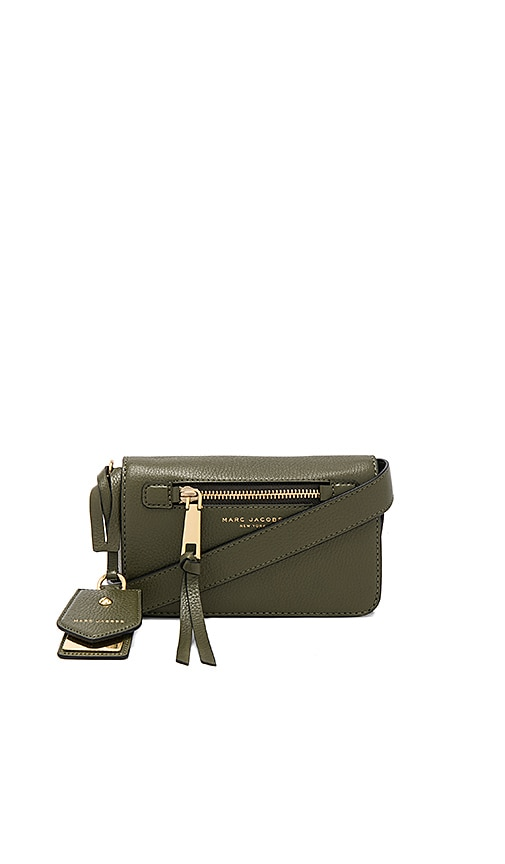 Marc Jacobs Recruit Crossbody in Army