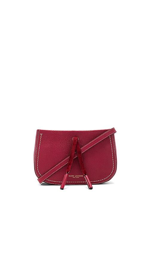 Marc Jacobs Maverick Crossbody in Rust