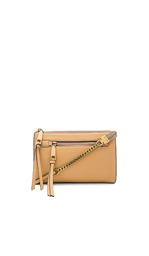 Marc Jacobs Recruit Small Crossbody in Tan