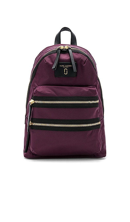 Marc Jacobs Biker Backpack in Purple